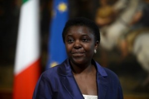 Cécile Kyenge  Photo credits: direttanews.it