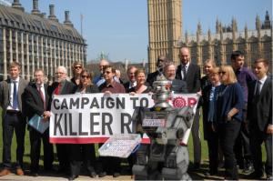 Photo Credits: stopkillerrobots.org