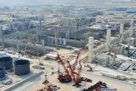 Photo Credits: The National The Pearl, Qatar and the world's largest gas-to-liquids plant