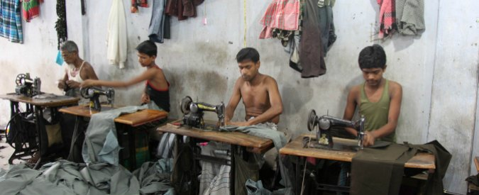 Il Fatto Quotidiano. The textile industry in Bangladesh is worth 1,2 billions a year for Italian firms.